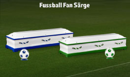 Sarg Fussball Fan