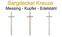 Sargdeckel Kreuze