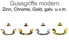 moderne Gussgriffe