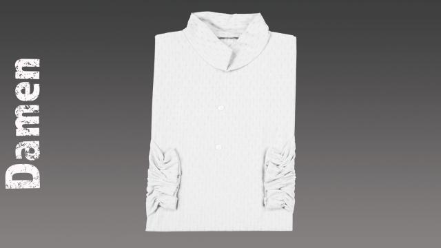 Sterbehemd Damen weiß passend zur DESA