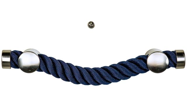 Sargbeschlag Maritim blau Reling