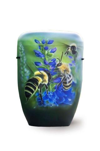 Airbrush Urne Bienen