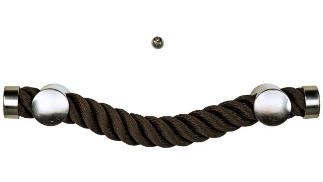 Sargbeschlag Seil Braun Reling