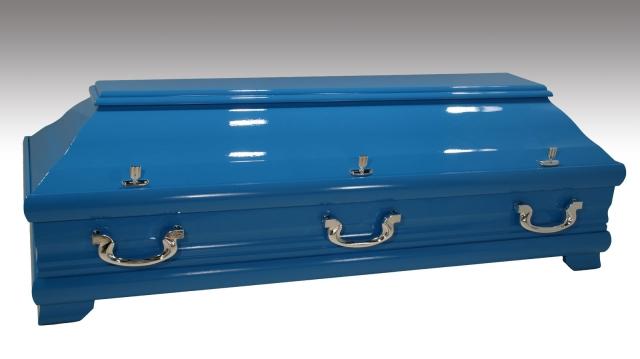 Wunschfarbe am 98 Kiefer, himmelblau