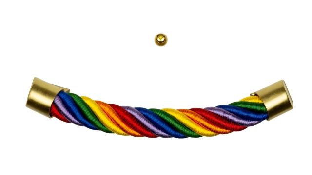 Sarggriffe Regenbogen