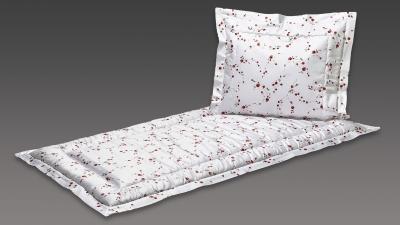 Deckengarnitur weiß kleine Röschen
