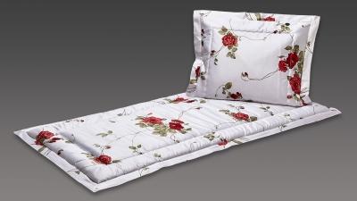 Deckengarnitur weiß große Rosen