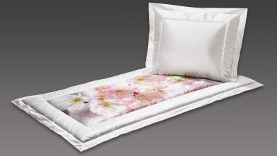 Deckengarnitur weiß Kirschblüten