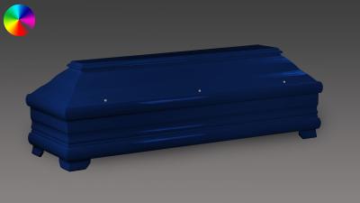 Sarg Nachtblau