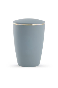 Urne Pastell grau ohne Emblem