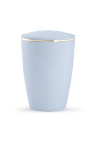 Urne Pastell hellblau ohne Emblem