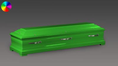 Sarg Eichenholz Reingrün