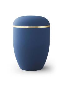 Urne blau Goldband