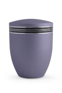 Urne Lavendel Krypta Mosaikband schwarz