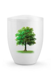 Urne Ahornbaum grün Sommer Edition Silva
