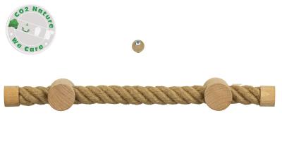 519 Seilgriffe Natur Holzhalterungen