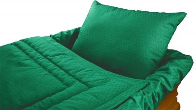 Decke Sargausschlag 4-teilig, grün