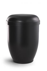 Urnen online Shop Auswahl: Naturstoffurne schwarz, ohne Motiv