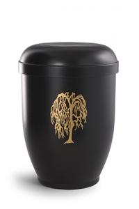 Urnen online Shop Auswahl: Naturstoff oder Stahlurne Motiv Weide