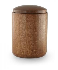 Holzurne Eiche rustikal ohne Sockel