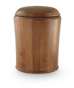 Eichenholz Urne rustikal