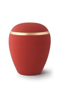 Keramikurne Samtton Rubin Dekor antikgold