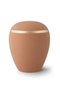 Keramikurne Samtton Sand Dekor antikgold