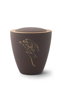 Keramikurne Samtton Café, Motiv Engel