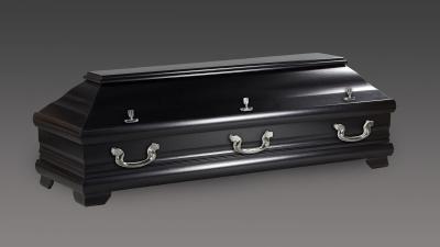 Modell 98 Kiefer schwarz seidenmatt