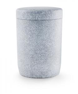 Urnen online Shop Auswahl: Urne für Seebestattung aus Tonolith basaltfarbig