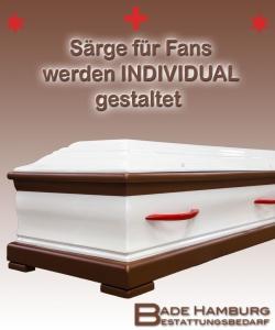 Fan Sarg (St. Pauli) braun und weiß