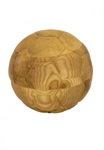 Fussball Urne aus Holz