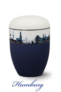 Urnen online Shop Auswahl: Urne Hamburg Fan