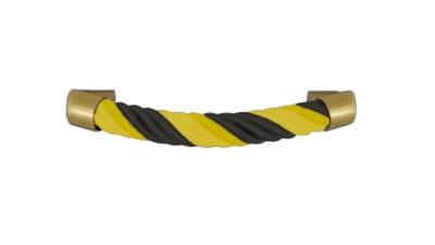Sargzubehör: Sarggriffe schwarz gelb namhafter Hersteller
