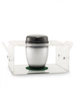 Urnentrage aus Acrylglas