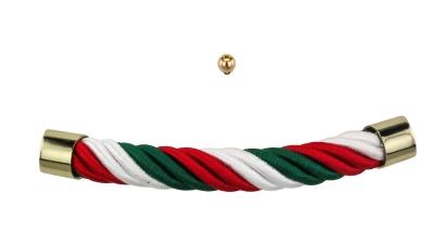 Sarggriffe in den Farben Italiens