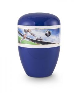 Urnen online Shop Auswahl: Urne Fanfarben Motiv Fussball