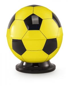 Fußball-Urne gelb schwarz