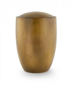 Teakholz Urne aus Erlenholz