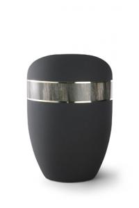 Urnen online Shop Auswahl: Urne graphit Samtton, Dekor Treibholz