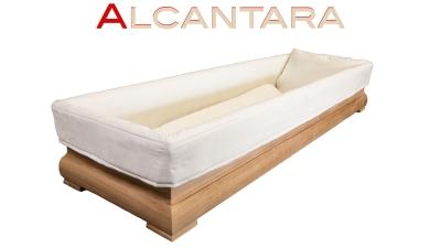 Sargausschlag Alcantara 4-teilig