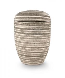 Urnen online Shop Auswahl: Urne Naturstoff Steinoptik grün