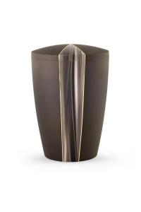 Urnen online Shop Auswahl: Urne Samton braun Kaskade Motiv