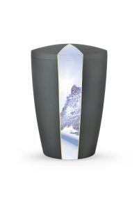Bio Urne Anthrazit grau Firmament Gipfel
